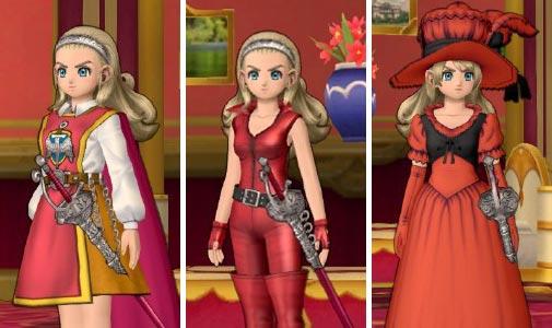 ドラクエ10勇者姫アンルシアおめかし衣装