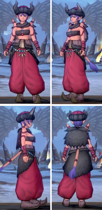 ドラゴンクエスト10獄獣セット画像