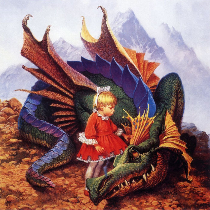 魔法の王国ザンス 第七巻Dragon_on_a_Pedestal
