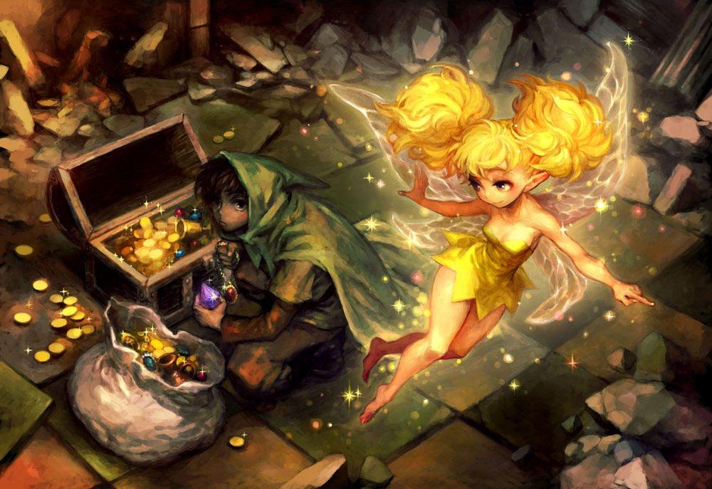 ドラゴンズクラウン妖精ティキ