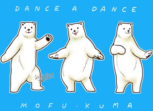 踊る白クマ サムネイル
