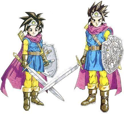 SFCドラクエ3の勇者
