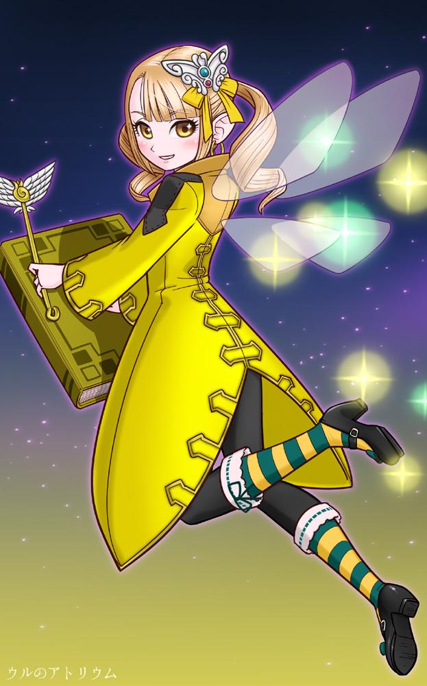 皆内ひなたイラスト「黄色い妖精サンビタリア」