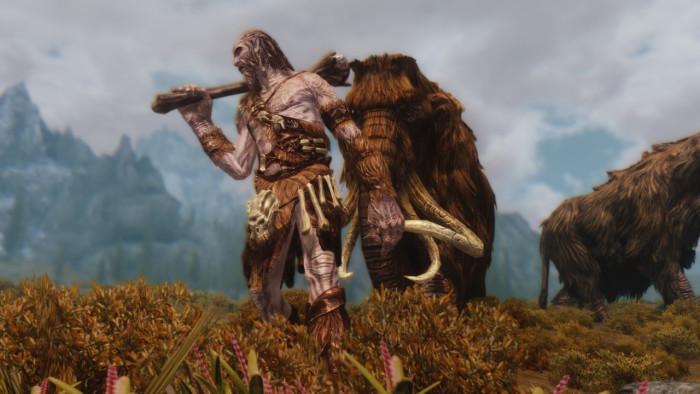 スカイリムの巨人
