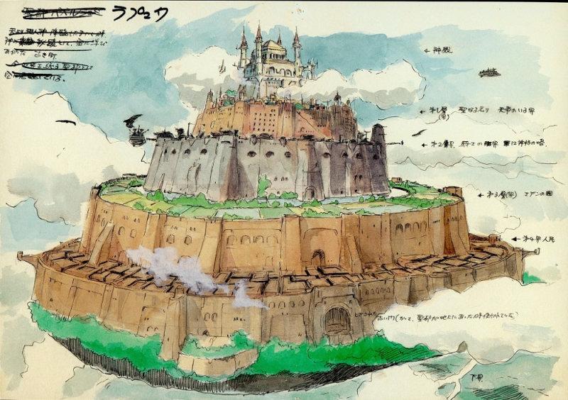 天空の城ラピュタ イメージボード