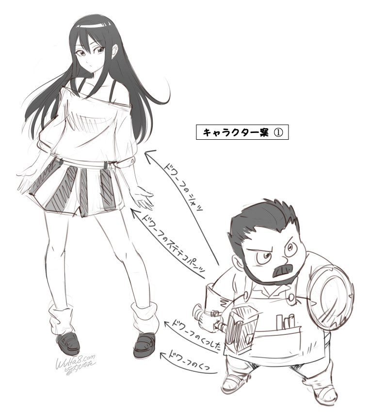 キャラクター案01