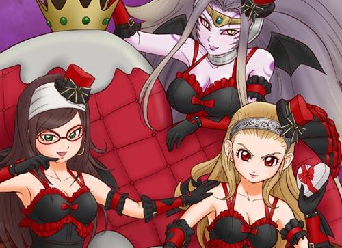 ドラゴンクエスト10ファンアート「裏の小悪魔たち」サムネイル