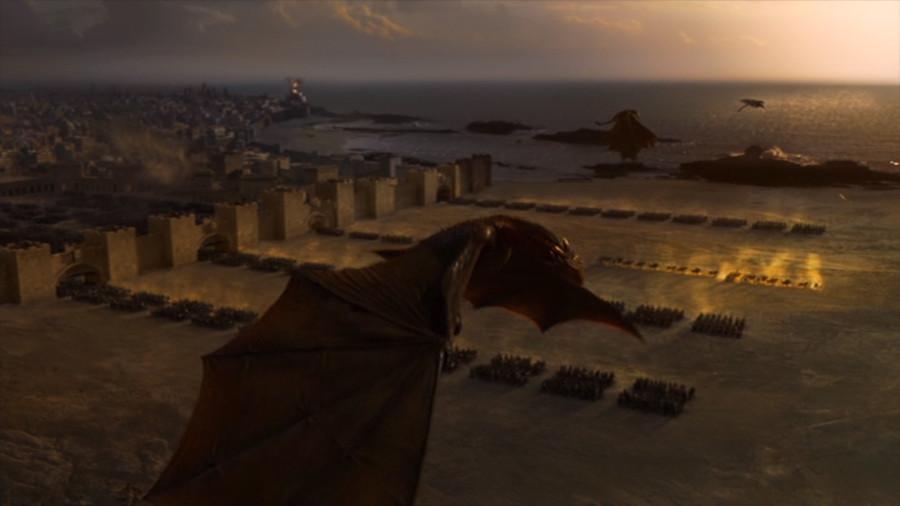 ゲーム・オブ・スローンズ穢れ無き軍団と3匹のドラゴン