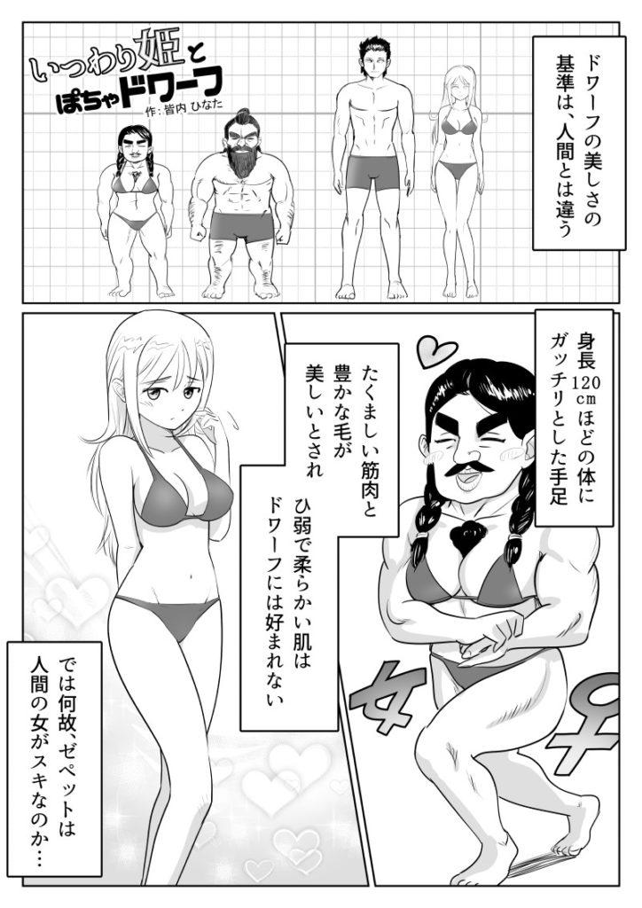 いつわり姫02-01 皆内ひなた