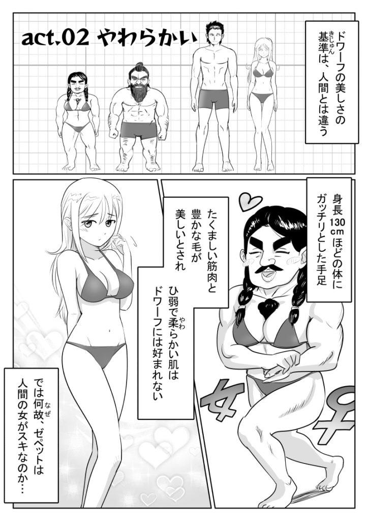 いつわり姫とぽちゃドワーフ02-01 皆内ひなた
