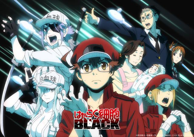 働く細胞blackアニメ